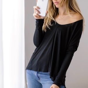 LS High Low Basic Top • REPOSH: 11thstreet